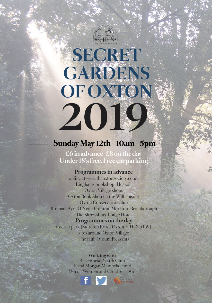 Secret Garden's Of Oxton 12th May